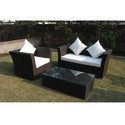 Synthetic Wicker Outdoor Sofa