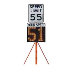Sign Board Speed Radar Gun