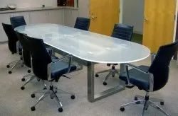 Conference Glass Table