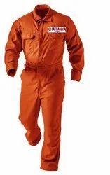 SC001C003 Orange Cotton Coverall