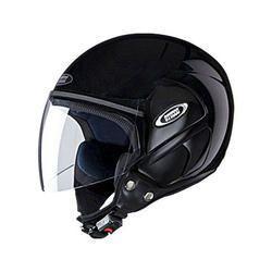 Studds Open Face Black Helmet, Weight: Upto 1.45 kg