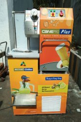 5 Roller Sugarcane Juice Machine with Instant Chiller