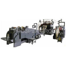 Fully Automatic Paper Bag With Handle Machine