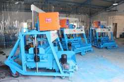 Semi Automatic Hollow and Solid Block Making Machine