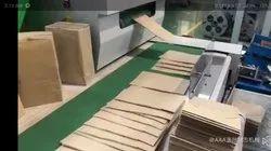Paper Carry Bag (V Type )Making Machine