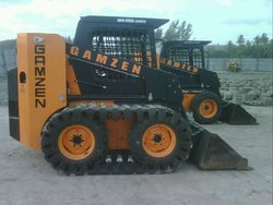 Skid Steer With Rubber Track