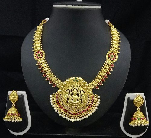 Shourya exports temple jewelry necklace set mandir ke jevar temple shourya exports temple jewelry necklace set aloadofball Gallery