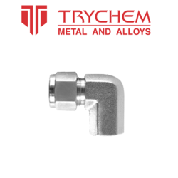 TRYCHEM Stainless Steel Female Elbow, Size: 3/4 inch and 1 inch