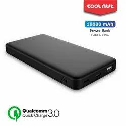 QC Power Bank 10000 mAh - Black