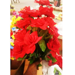 Artificial Bunch Of Rose Flower For Decoration