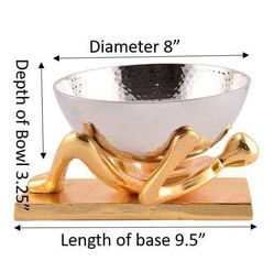 Gold Center Table Decorative Items, Packaging Type: Corrugated Box