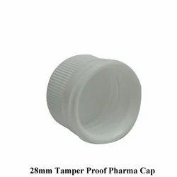 28mm Tamper Proof Pharma Cap