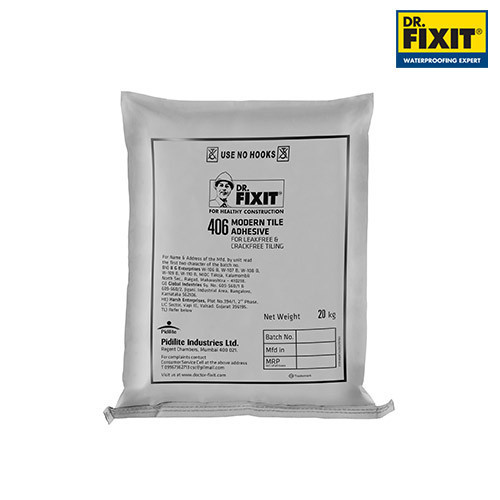 Dr Fixit Modern Tile Adhesive Packaging Size 20 30 Kg Id 20064973888