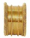 Indian Golden Bangles
