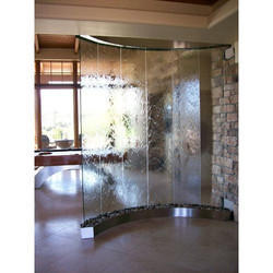 Indoor Glass Wall Fountain