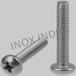 SS 304 Pan Phillips Screws