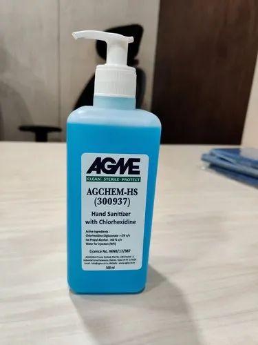 AGME Hand Sanitizer with Chlorhexidine (500ml)