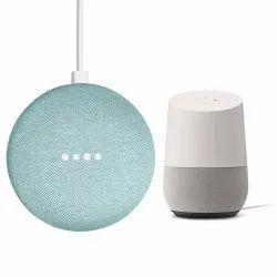 White Google Mini Speaker