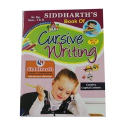 Ravi Pancholi Kids Senior Kg Cursive Writing Work Books