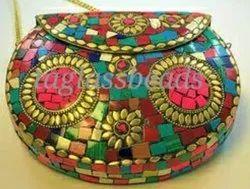 Gift For Women Under 100 Mosaic Bag Ethnic Clutch Bag Handicrafts