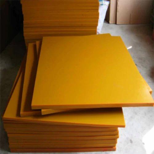 Yellow Rigid Polyurethane Foam 10 Mm Rs 500 Square