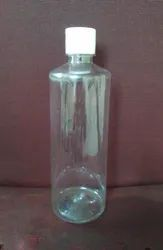Transparent Flip Top Cap 500 Ml Pet Bottle, For Drinking Water, Use For Storage: Chemical