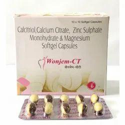 Calcitriol Calcium Citrate Zinc Sulphate Monohydrate And Magnesium Softgel Capsules