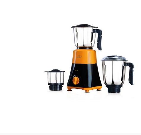 Black And White Yellow VX 750 Mixer Grinder