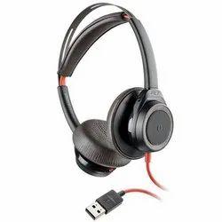 Plantronics Blackwire 7225 USB-A Stereo Corded Headset, Black