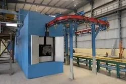 Semi Conveyorised Powder Coating Plants