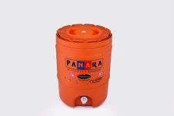 Plastic Full Orange Water Jug, Size: Standard