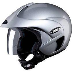Studds Grey Open Face Helmet, Weight: Upto 1.45 kg