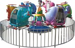 Merry Go Round Helicopter Amusement Ride