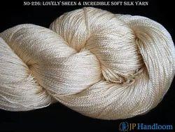 Organic Spun Silk Knitting Yarn 2 ply