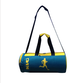 eba27f369349 KVG Fashion Yellow And Dark Green Color Note Gym Bag
