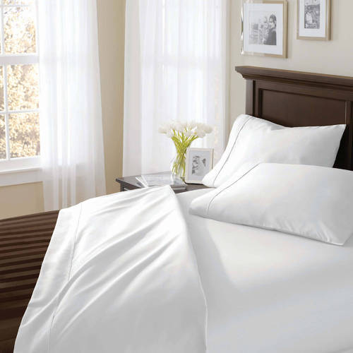 Hotel Plain Percale Bed Sheet