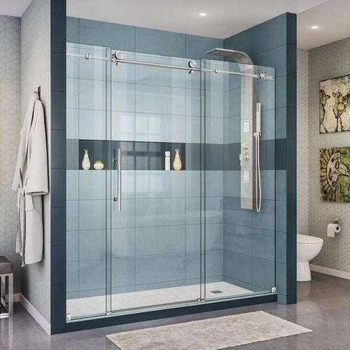 Bathroom Partition Glass At Rs 48 Feet Hebatpur Road Ahmedabad Simple Bathroom Partition