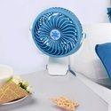 ROQ Rehargeable Mini Portable 360 Degree Rotatable Clip Fan