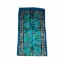 Multicolor Printed Silk Wool Stole