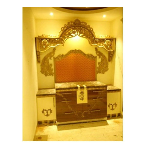 Modern Pooja Room at Rs 20000 unit Sector 19 Noida ID