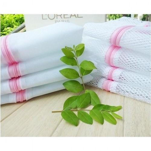 Zippered Mesh Laundry Wash Bags For Delicate Cloth Small