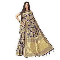 1001 Bhagalpuri Art Silk Saree