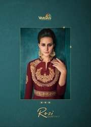 Vardan Designer Rozi Gold Vol-1 Designer Gown Catalog Collection