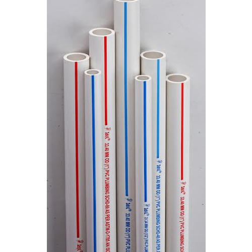 UPVC Plumbing Pipes - UPVC Water Pipes Manufacturer from Rajkot