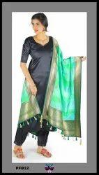 Panchhi Banarasi Silk Dupatta