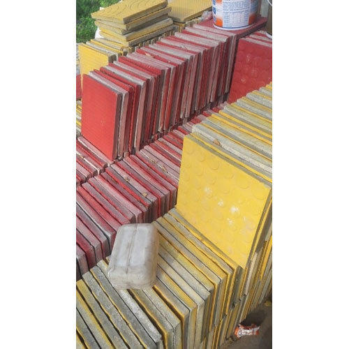 Red And Yellow Ceramic Outer Floor Tiles 8 10 Mm Id 19051376091