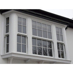 Fixed UPVC Sash Window