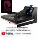 Manual Heat Press Machine- Manual Hot Fix Stone Machine