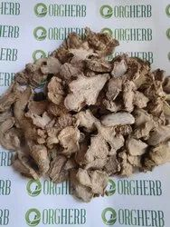 ORGHERB Natural Dry Ginger Slices, Packaging Size: 50kg, Packaging Type: HDPE AND PP BAGS