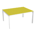 Yellow Office Meeting Table